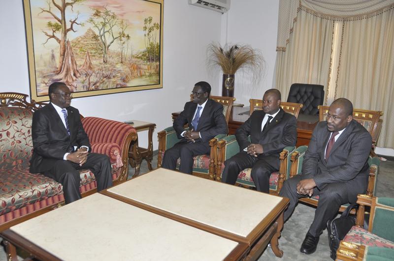 Le Président de la BOAD reçu en audience