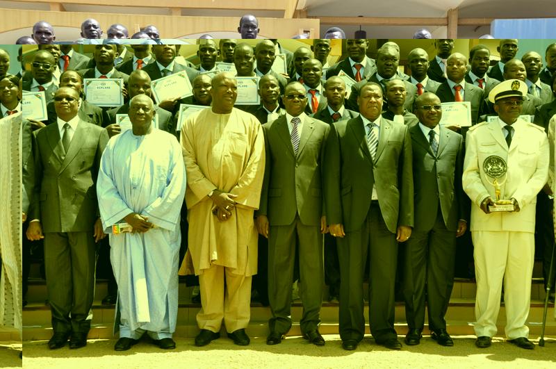Fin de l'année académique 2010-2011 à l'Ecole nationale d'Administration et de Magistrature