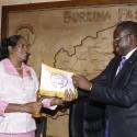 Le nouveau Médiateur du Faso entre en fonction