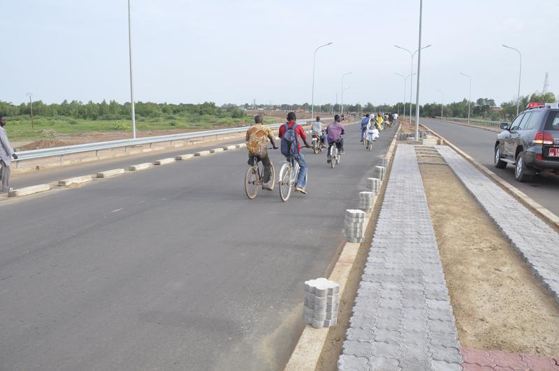 Le Premier ministre sur les chantiers de réhabilitation des routes engagés dans la capitale et sur celle de la nationale N°5