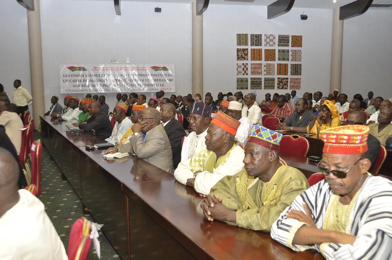 Le Conseil consultatif sur les réformes politiques livre les conclusions de ses travaux