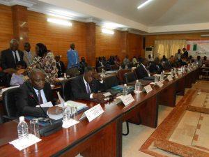Min ivoiriens à la réunion sectorielle