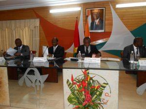 Présidium réunion min sectorielle Tac