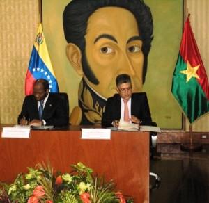 Visite MAECR Bassolé au Venezuela 14 05 14