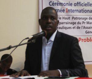 photo du président de conseil national des jeunes OSCAR ZOEYINGA