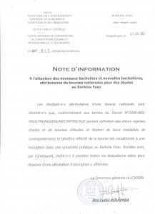 Note d'info N°669